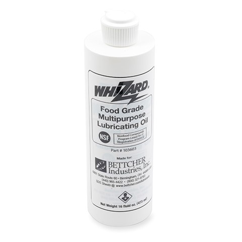 Whizard® Food Grade Multipurpose Lubricating Oil Product Photo